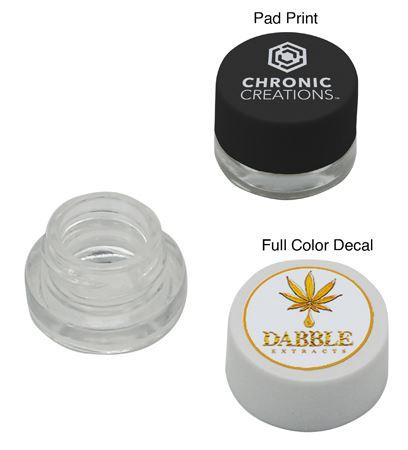 5 mL Melt-Proof, Dab Glass Jar