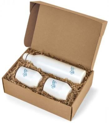 MiiR® Wine Bottle & Tumbler Gift Set - White Powder