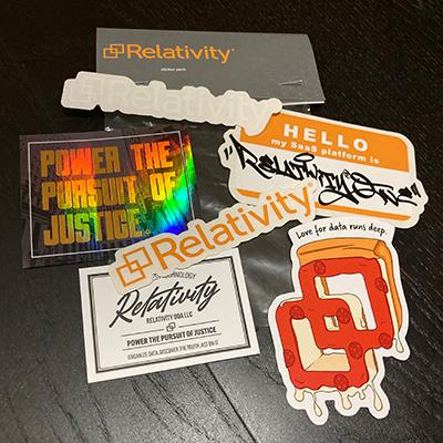 Relativity Sticker Pack