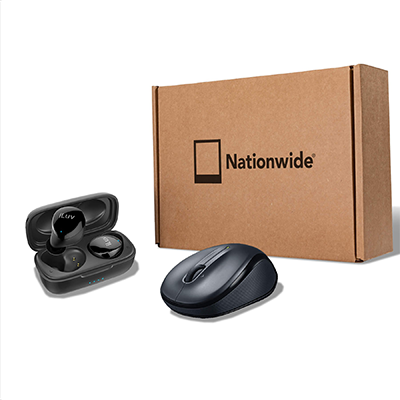 Higher Promos Hipster Gift Set Mouse EarBuds Kit